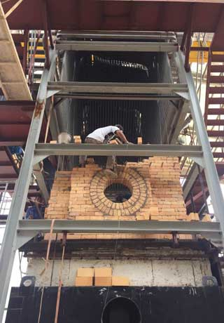 Rongsheng Refractory Provides Refractory Materials For Indonesia Fluidized Bed Boiler Project Application