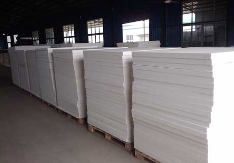 Cheap Refractory Ceramic Fiber Board For Sale in Rongsheng Kiln Refractory Manufacture
