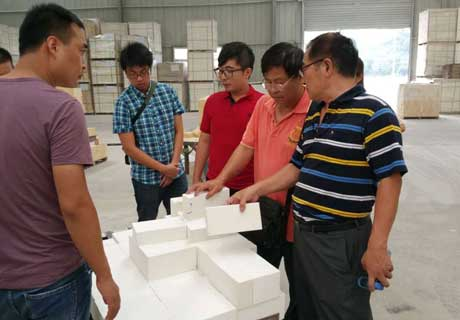 Rongsheng Provides Refractory Materials For Taiwan Customer