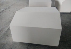 Fused Cast AZS Brick With High Intensity For Sale