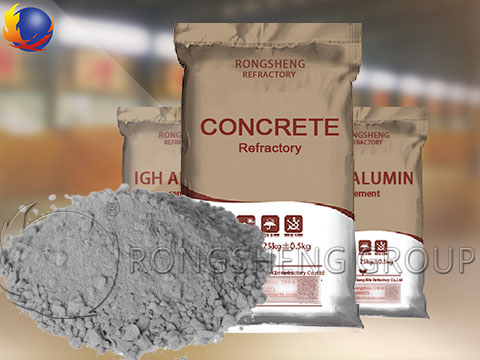 Castable Refractory Concrete