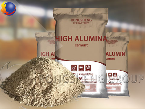 High Strength Refractory Cement
