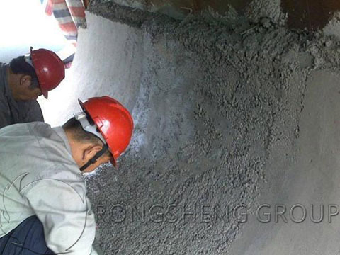 Construction of the Cement Kiln Refractory Castable Lining