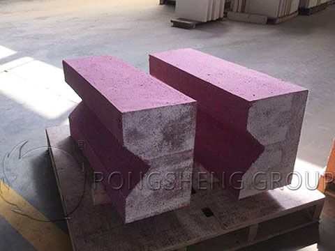 RS high-Quality Chrome Corundum Slide Rail Brick