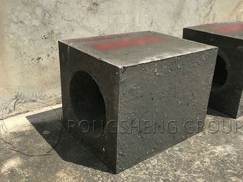 Refractory Castable Precast Blocks for Rotary Kilns