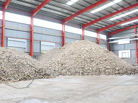 Rongsheng Refractory Bricks Raw Materials Workshop